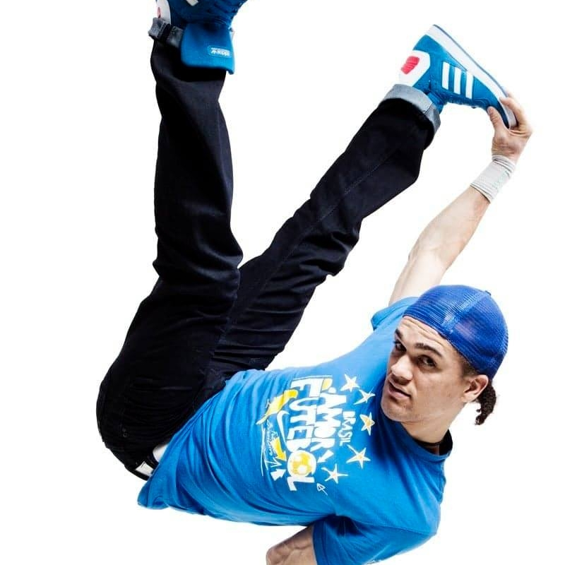 Leandro - Leandro Freitas ( Bruce Brasil) from Salvador bahia Brazil is a professional dancer who holds the title of professor in Capoeira. Other dance styles he invested and teaches in, are hip hop and breakdance.