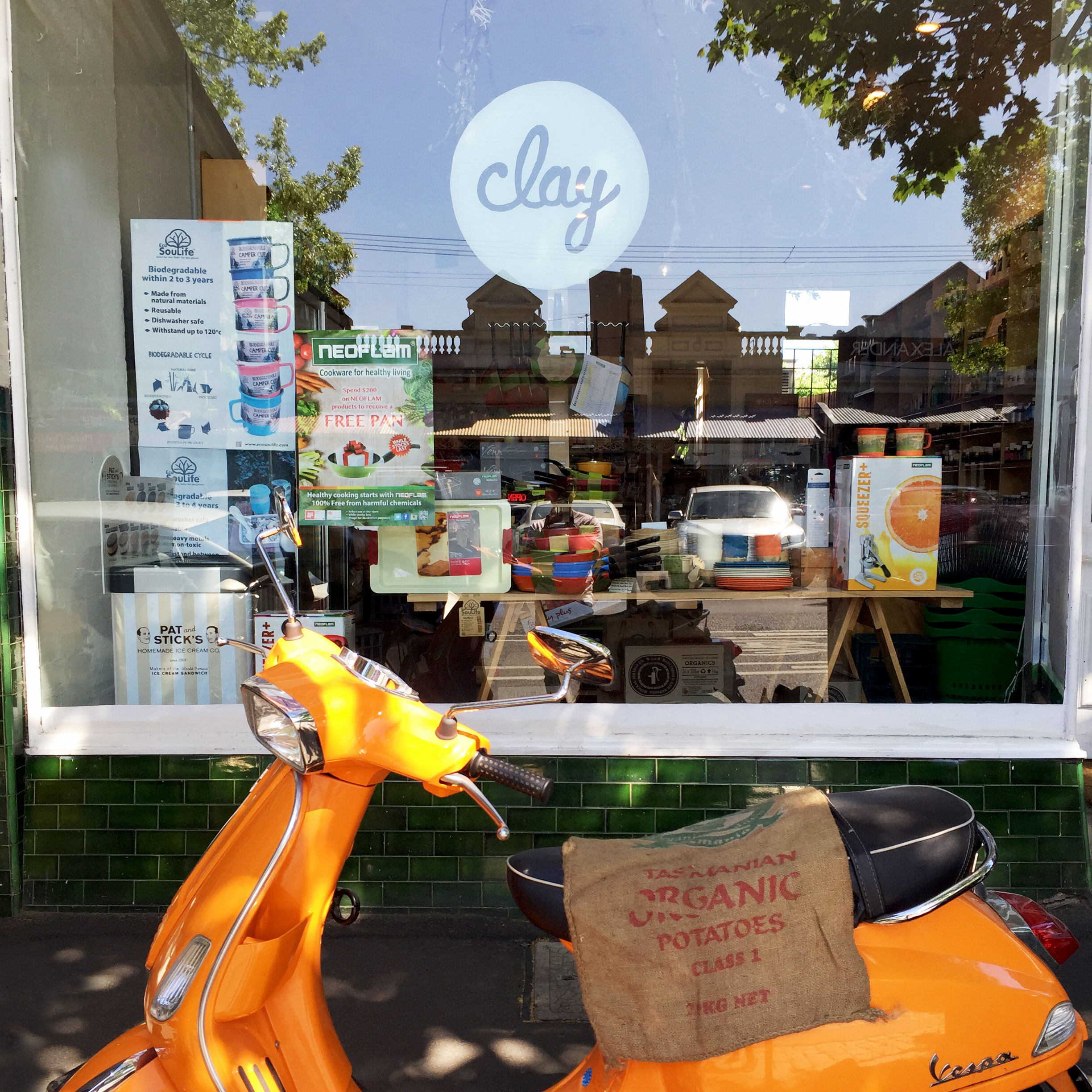 Clay Fine Foods and Health, 719 Rathdowne Street, Carlton North.