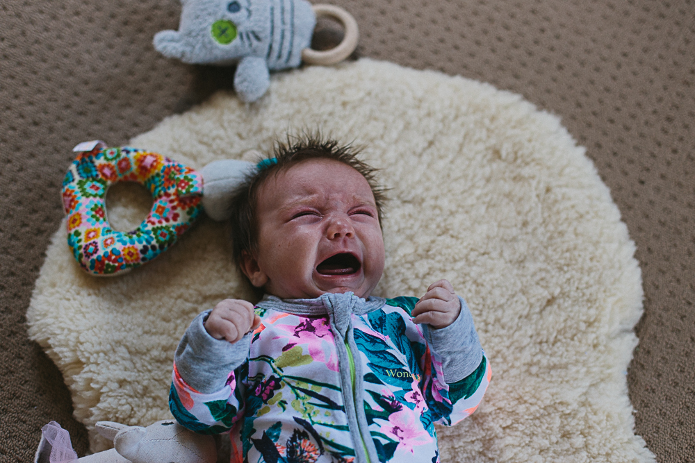 Babies cry, but they are still cute!