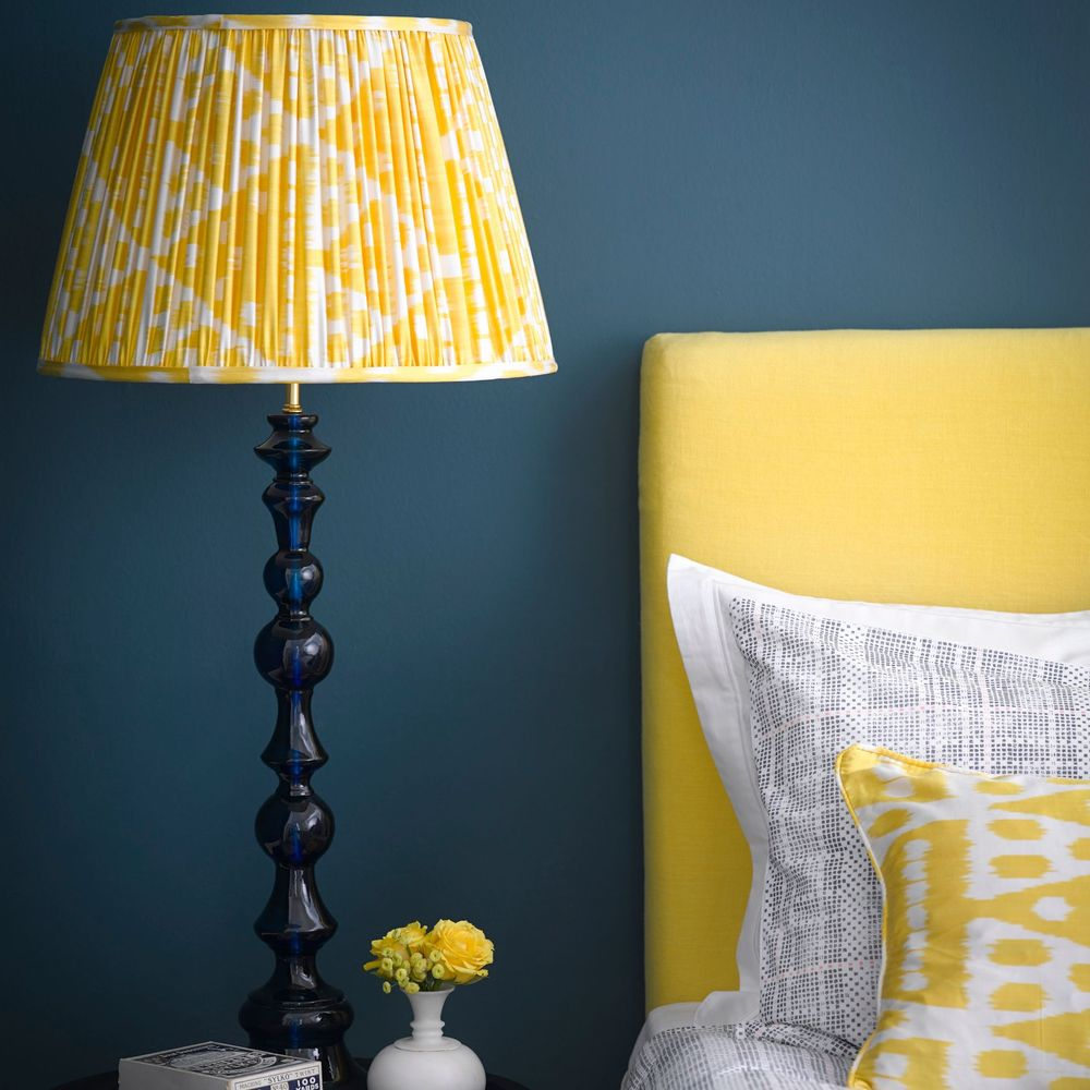pooky_bobboli_console_table_lamp_in_blue_100_empire_shade_in_yellow_silk_ikat_72_1.jpg