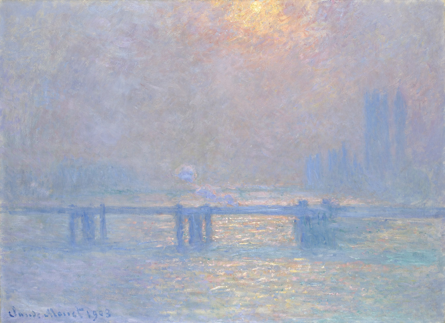 Claude Monet, Charing Cross Bridge - 1903