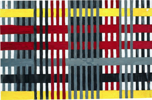 Anni Albers  Study for Unexecuted Wallhanging,  1926 © The Josef & Annie Albers Foundation