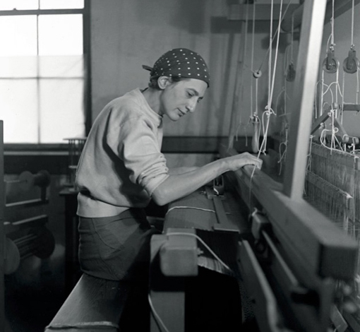 Anni Albers  Card Weaving at Black Mountain College  © State Archives of North Carolina
