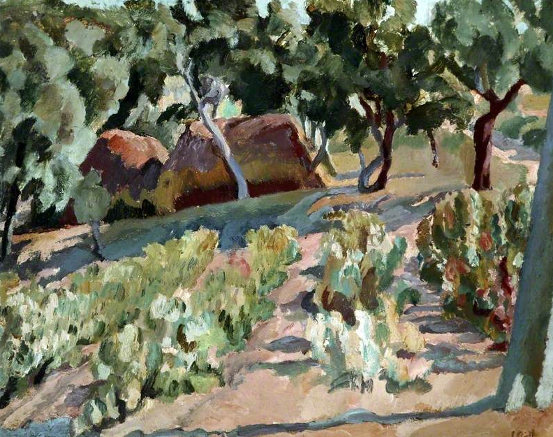The Vineyard, Vanessa Bell - 1930