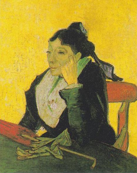 L'Arlésienne, Vincent van Gogh - 1888