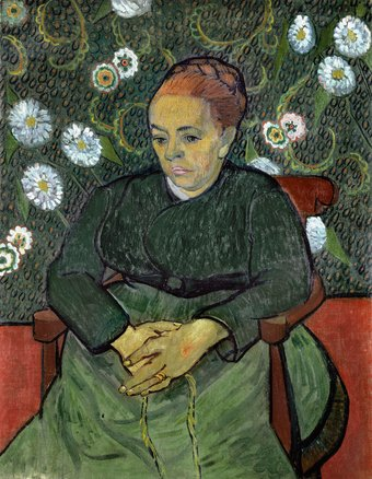 La Berceuse, Vincent van Gogh - 1889