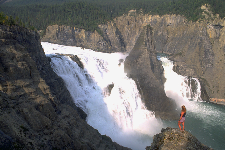 Virginia Falls,  Nahanni National Park Reserve