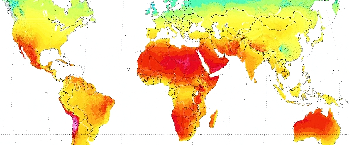 GHI Solar Map © 2017 Solargis
