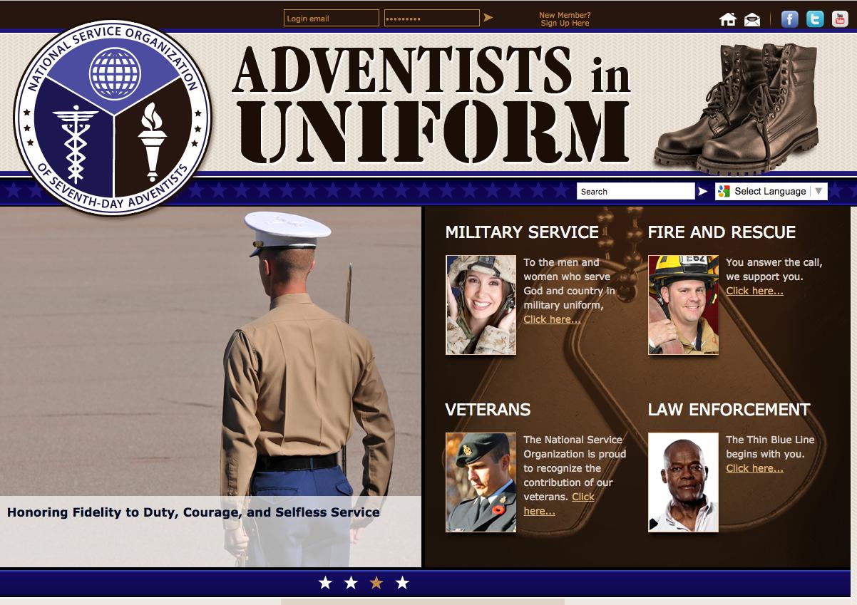 Visit http://www.adventistsinuniform.org/ for more information