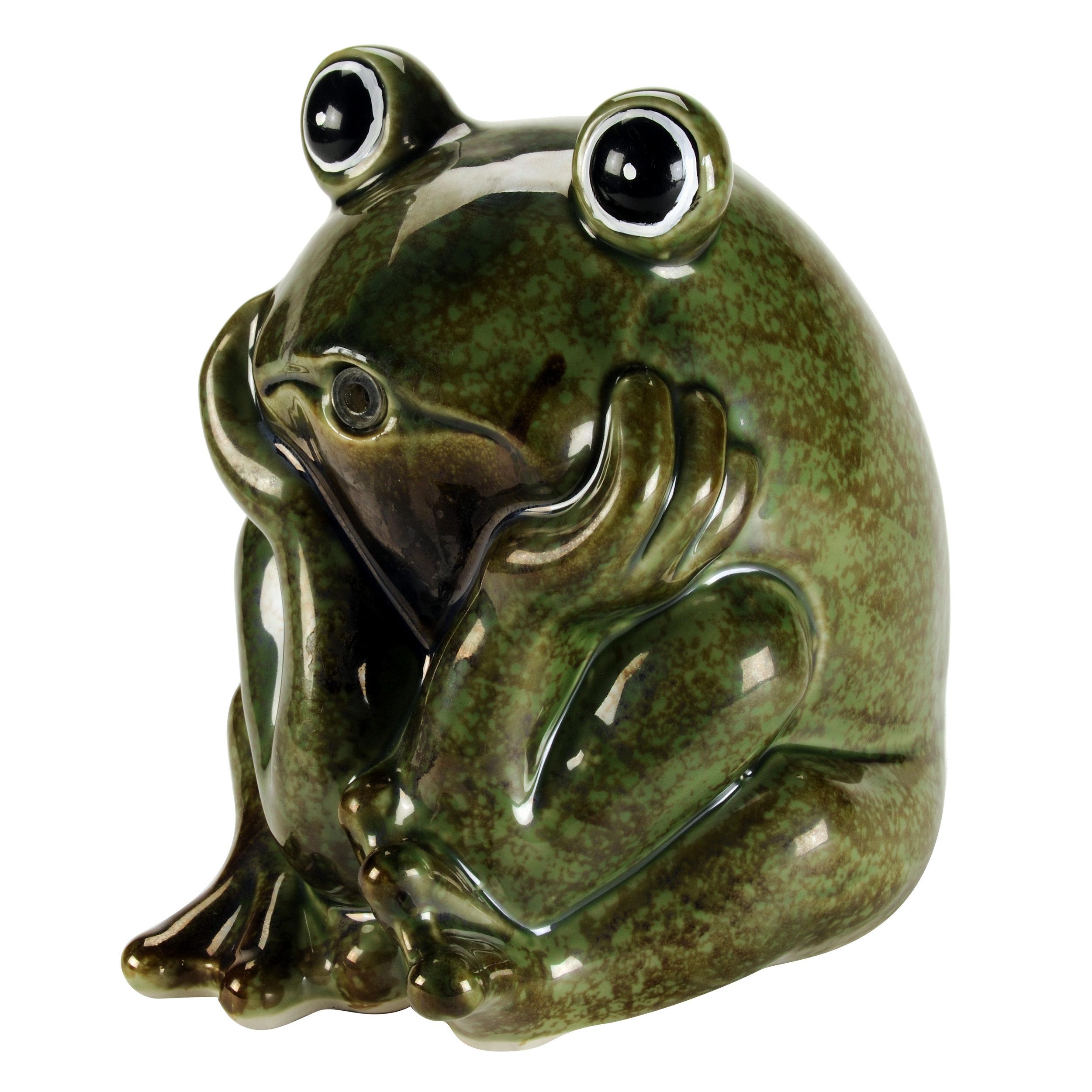 Ceramic Frog Spitter