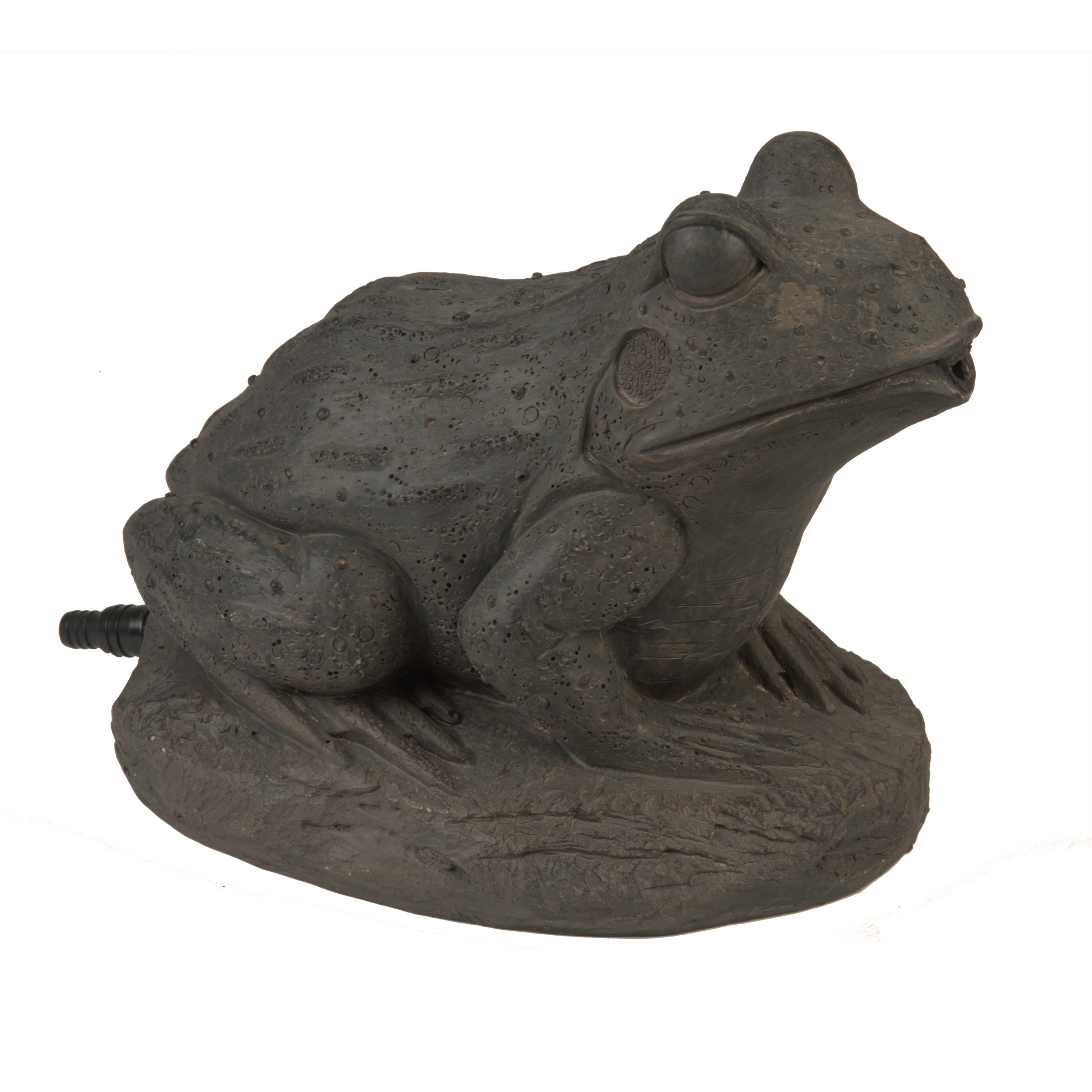 Brown Frog Spitter