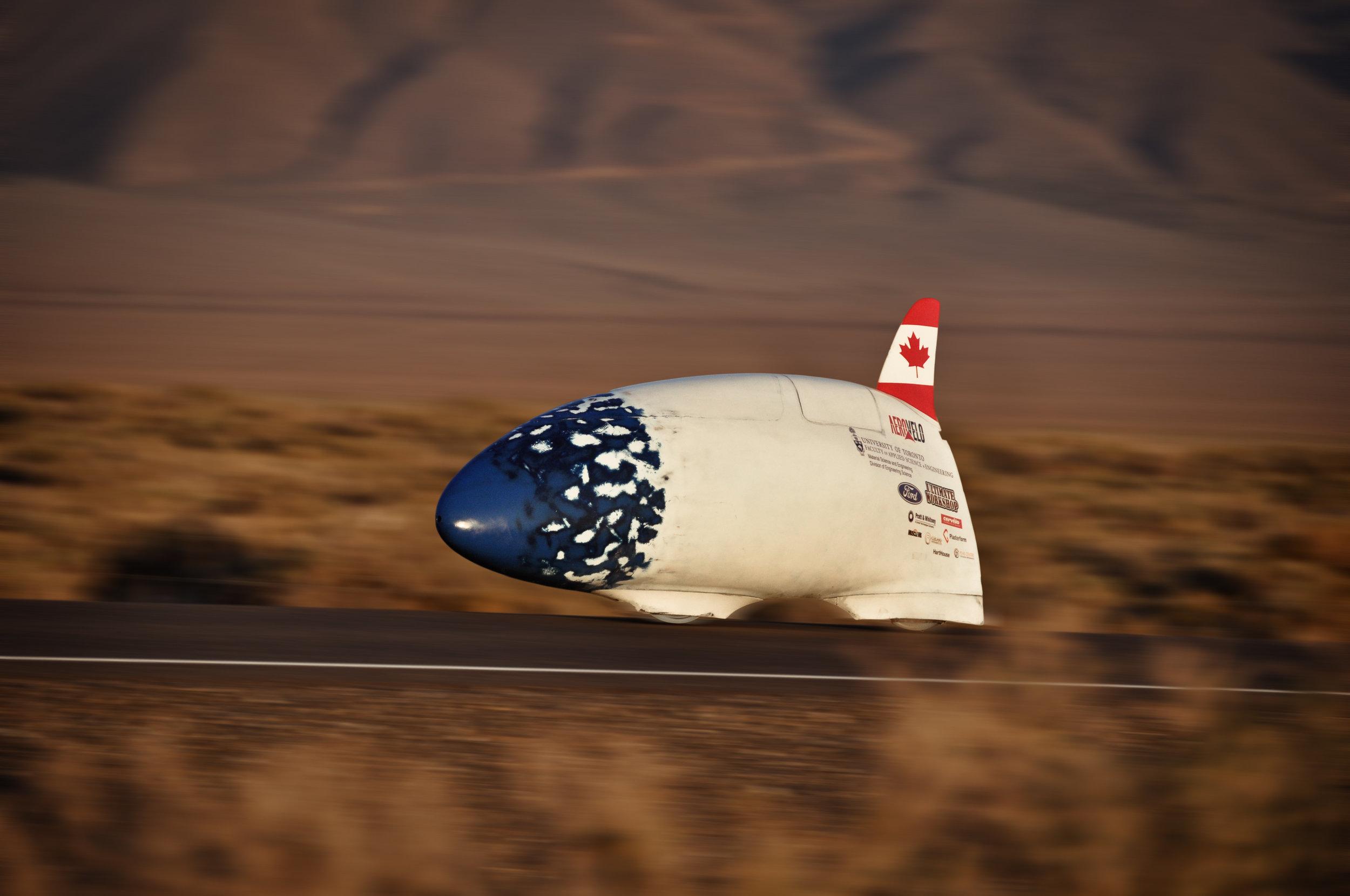 Bluenose (2012-2013) Top Speed: 125.02 km/hr