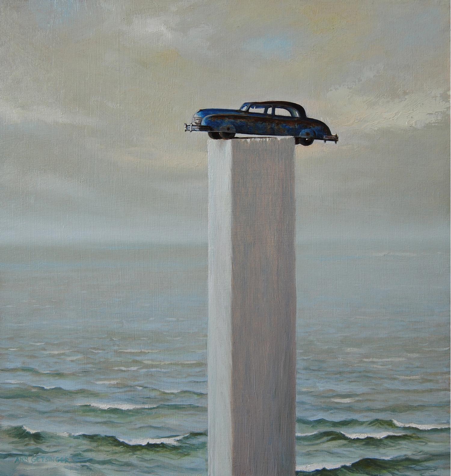 Blue Car on a Pedestal web.jpg