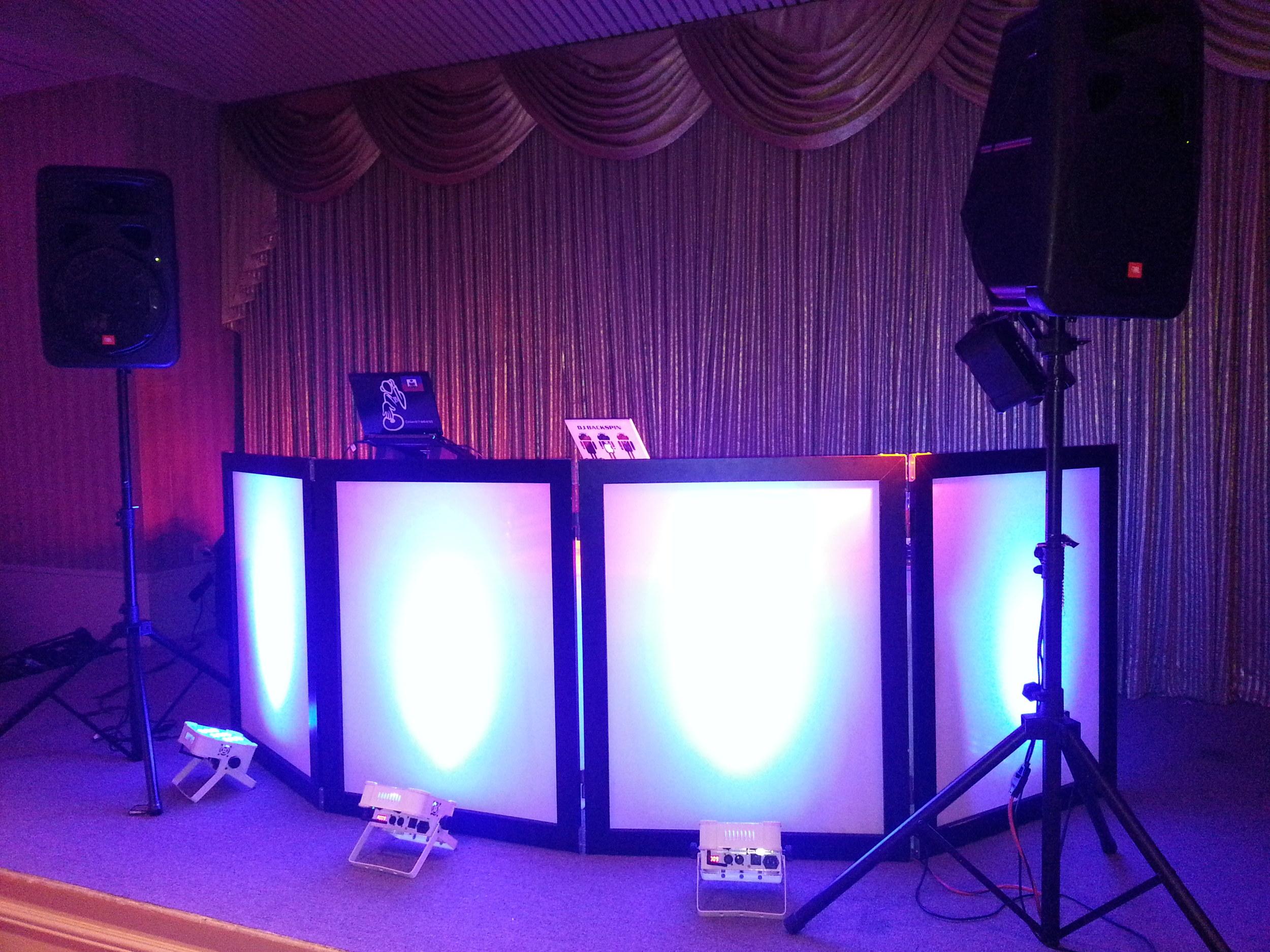 Custom Dj Booth Setup