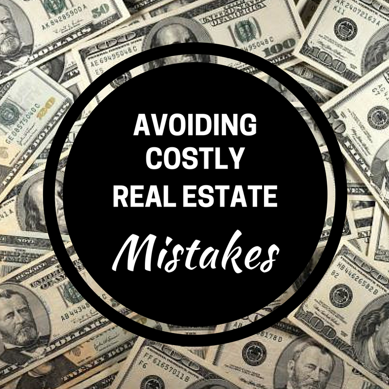 real estate mistakes to avoid
