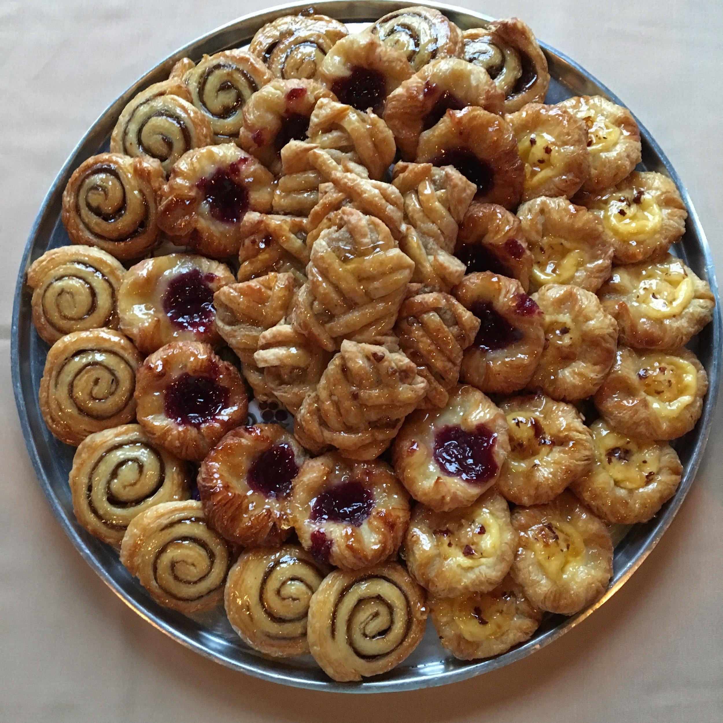 Fresh Baked Belgium Danish
