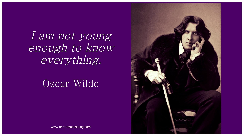 Oscar Wilde-Youth