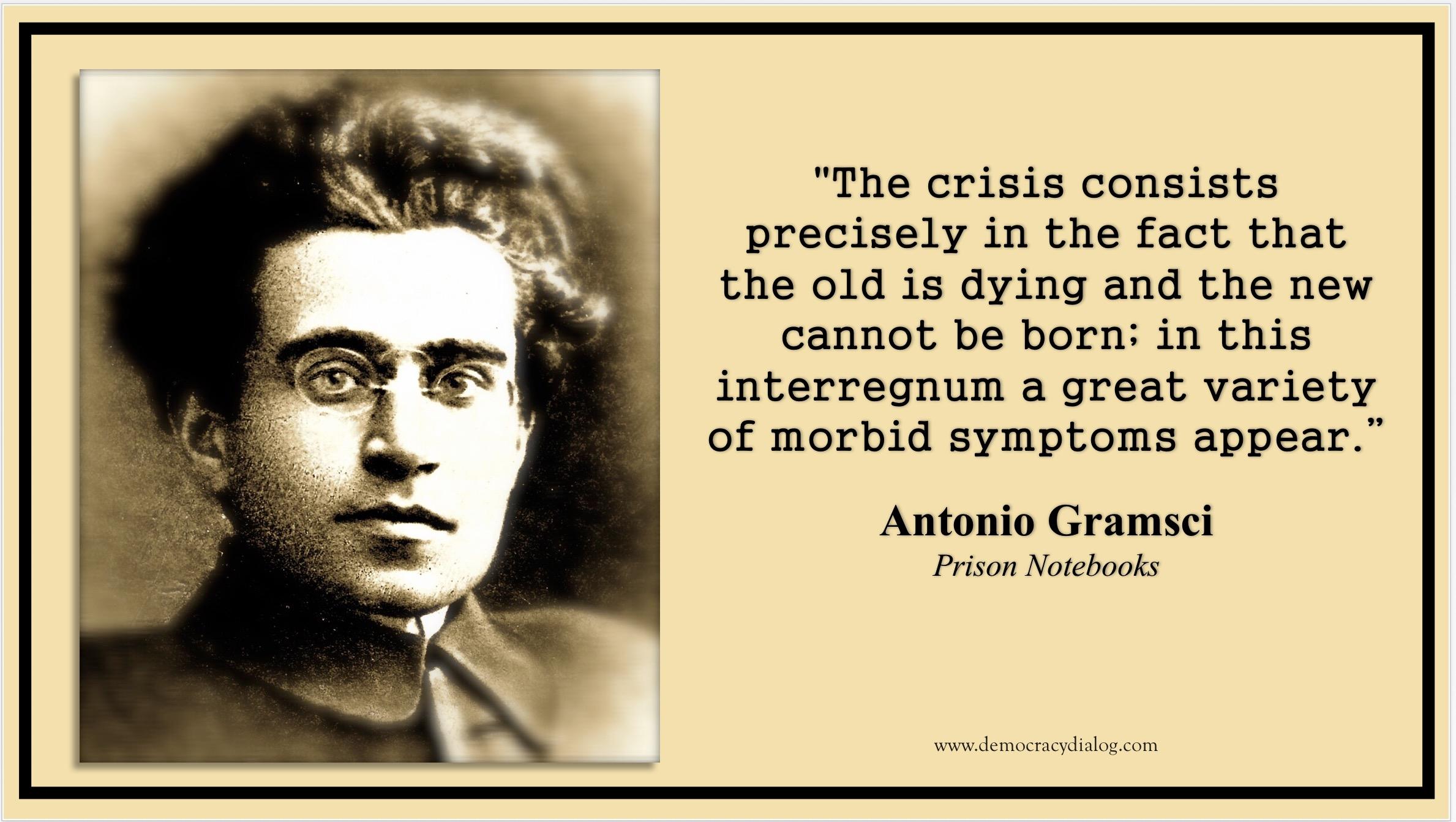 Gramsci-Interregnum