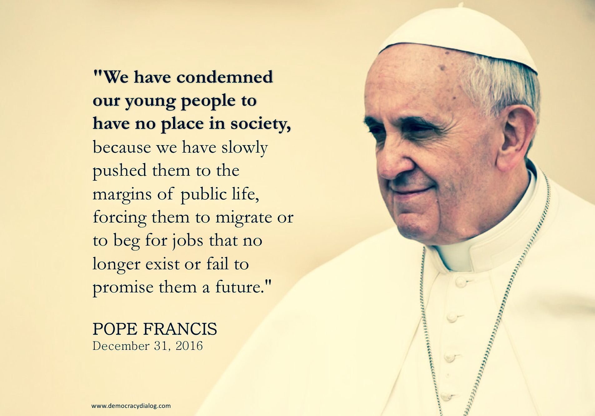 Pope Francis-youth futures