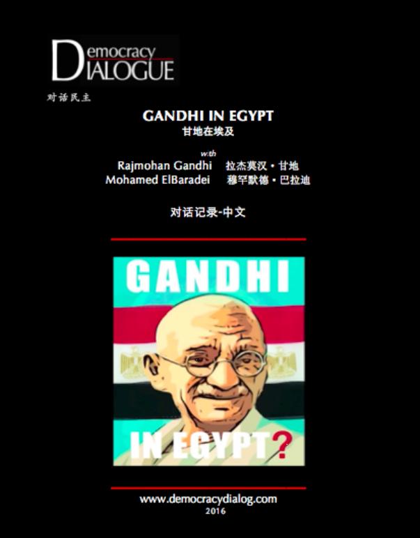 Gandhi in Egypt-Chinese