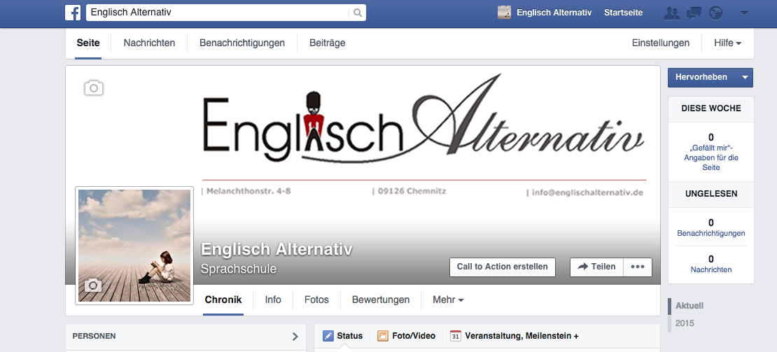 Facebookstart