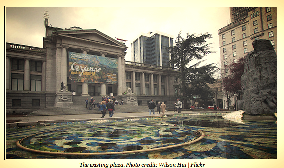 Vancouver Art Gallery Today.