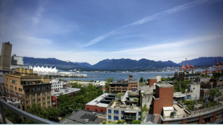 North Shore Vancouver Skyline
