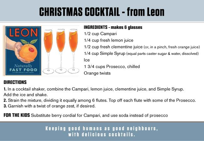 Xmas Cocktail recipe