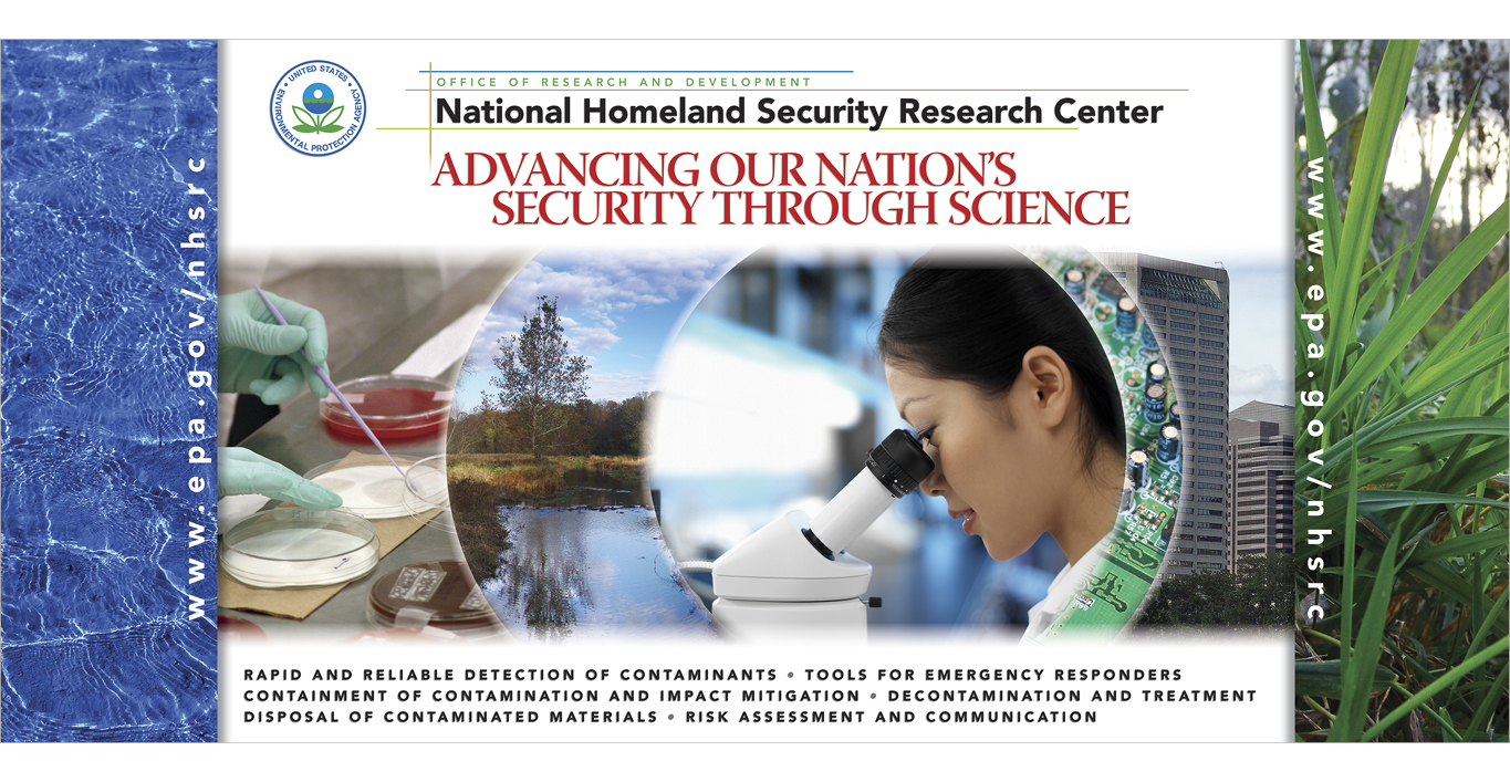 US EPA National Homeland Security Research Center Branding and Communications