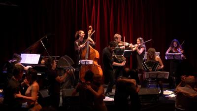 Orchestre mariage groupe musique paris tango jazz