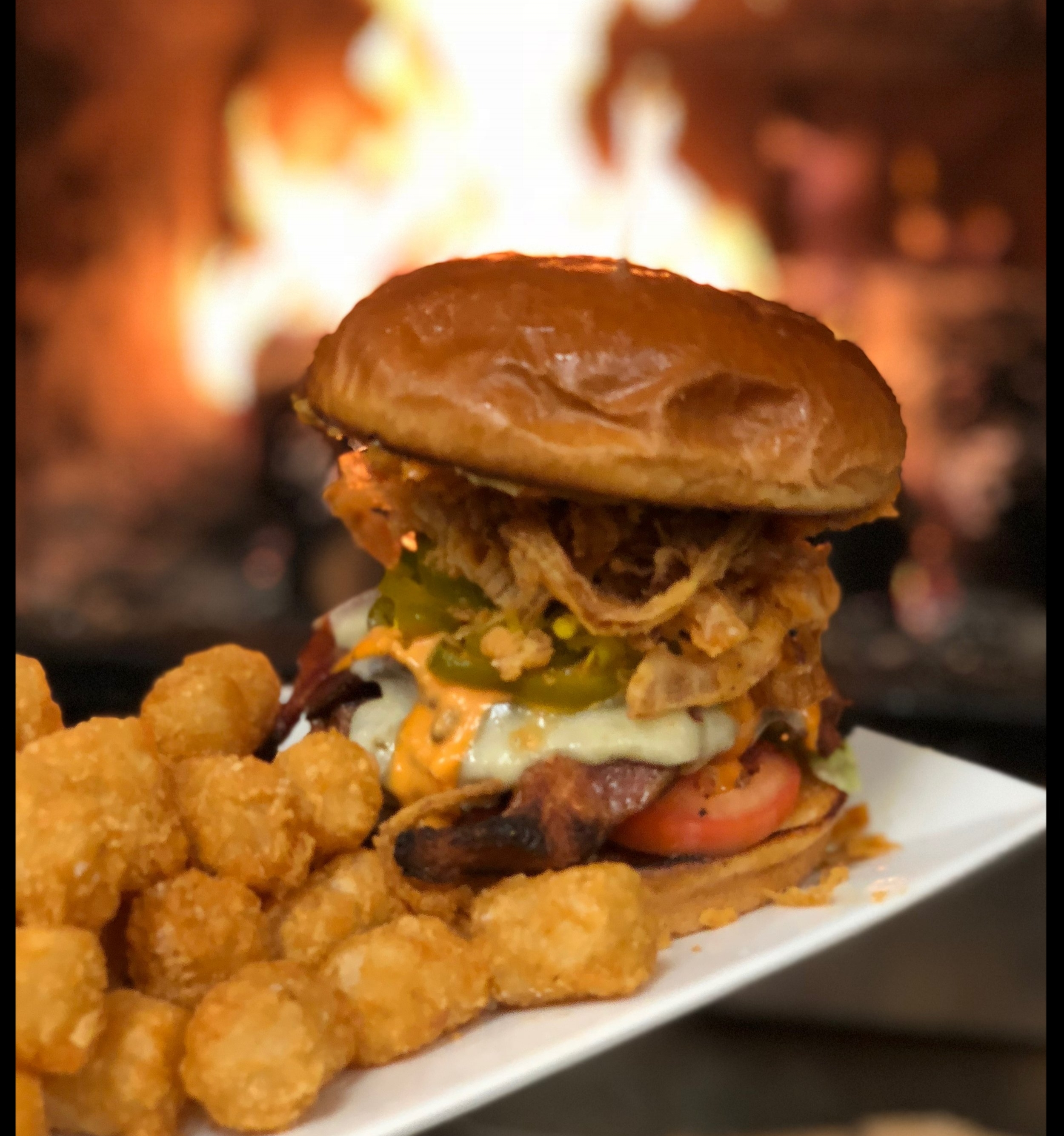 Burgers - Includes Fries or Tater Tots, Substitute Sweet Fries or House Salad for $2