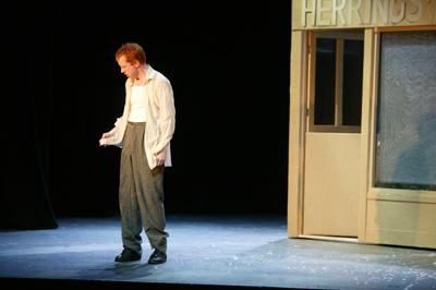 Luke D Williams as Albert Herring