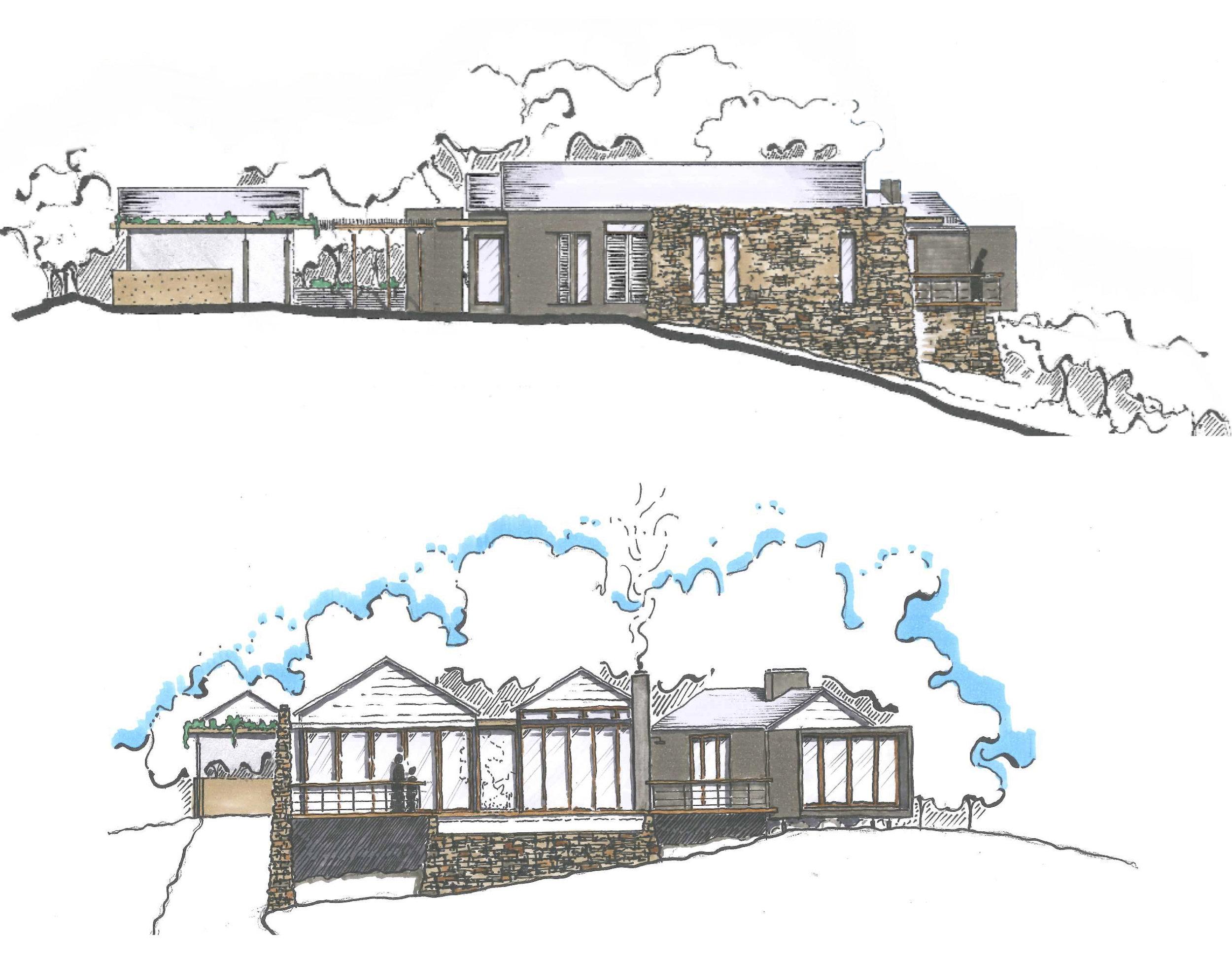 Initial Design Sketches
