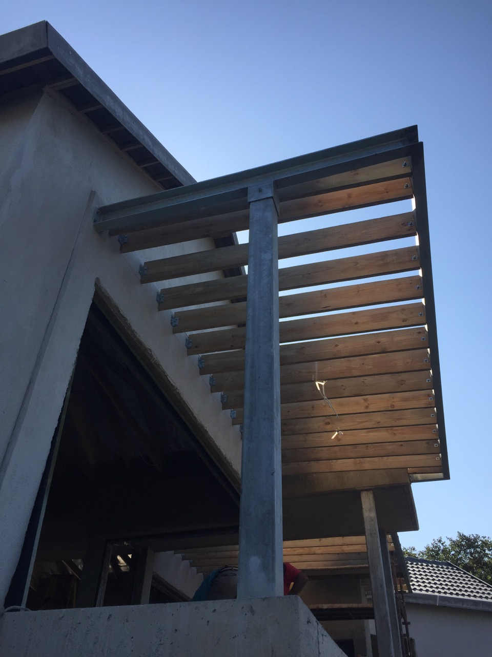 Pergola structure