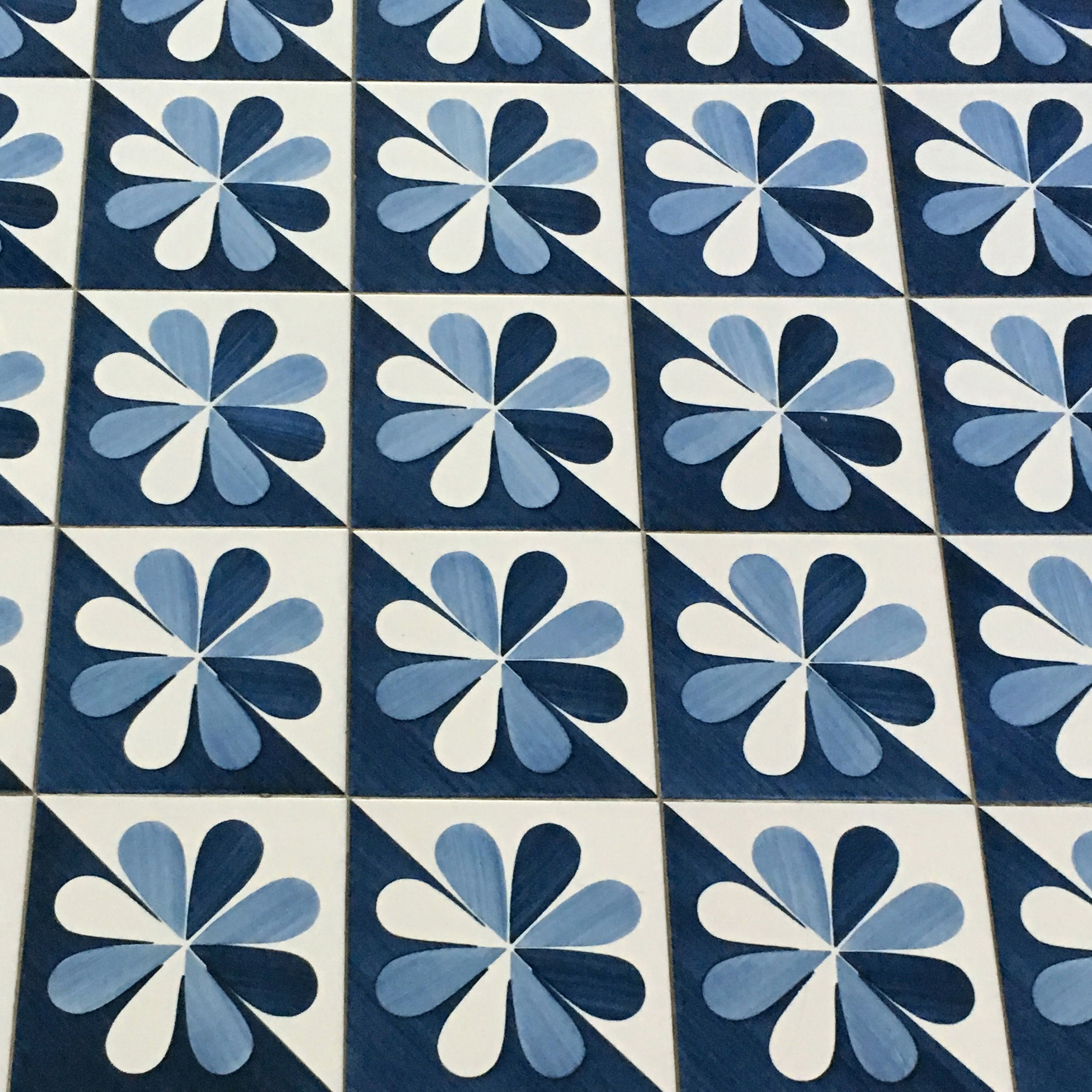 Tiles in the hotel
