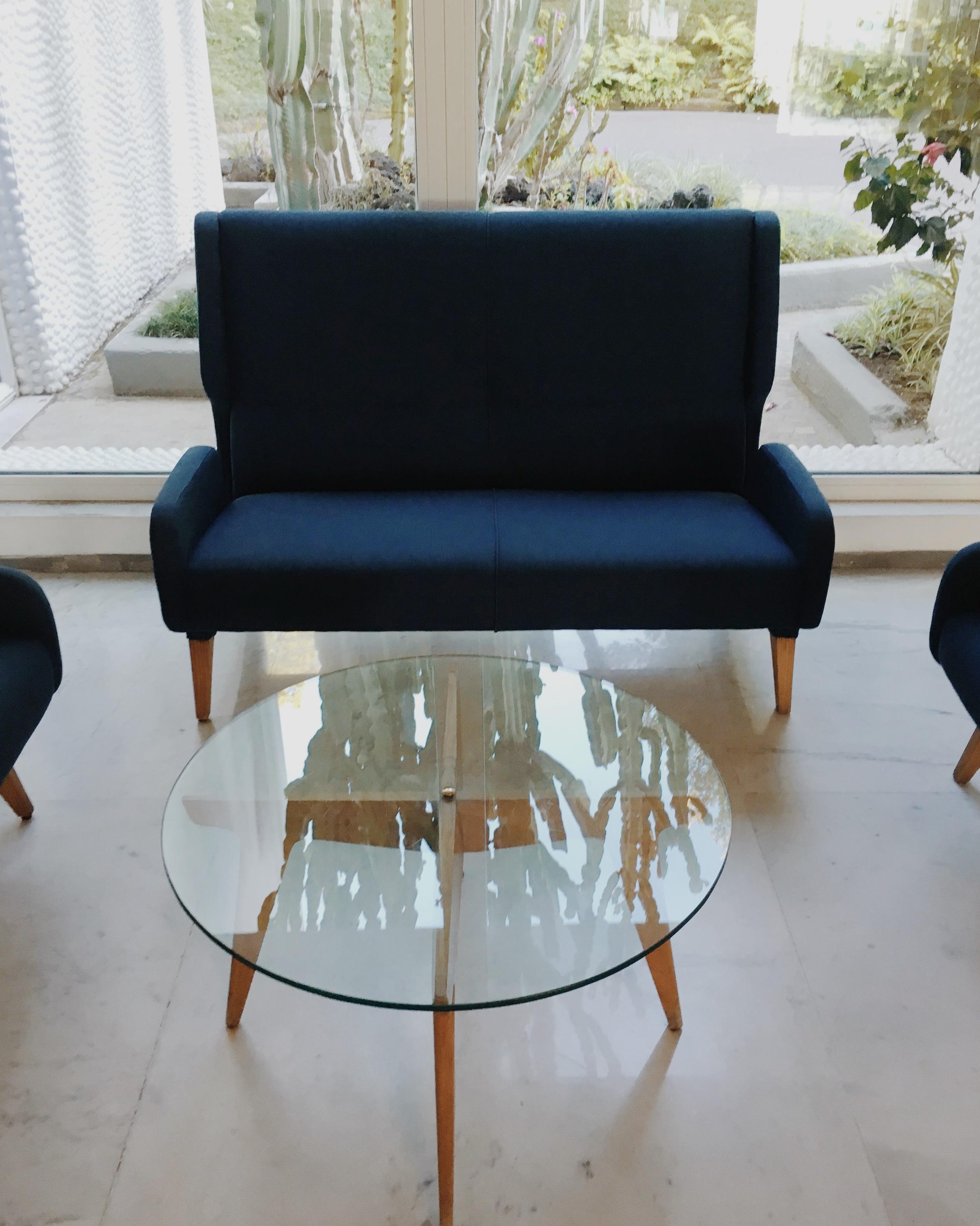 Sofa and Compass table
