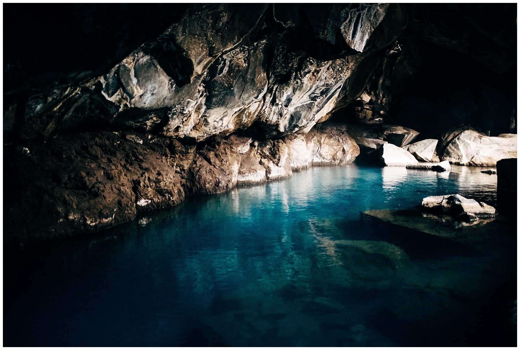 Hot spring cave, Grjótagjá.