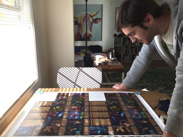 Matt Combing Through the Details