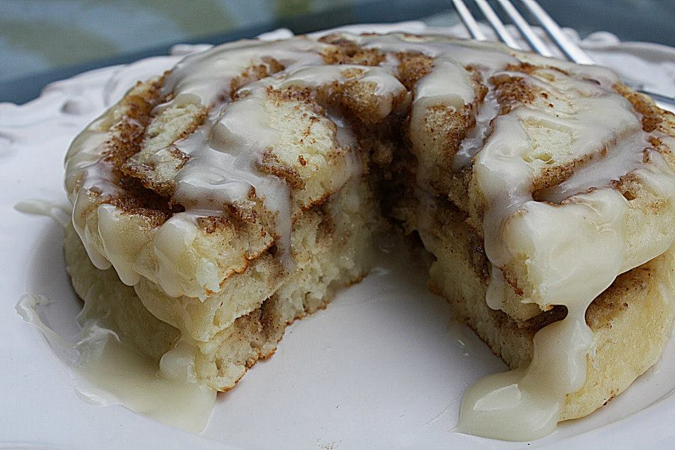 Cinnamon Roll Pancakes Photo Credit: kodiaccakes.com