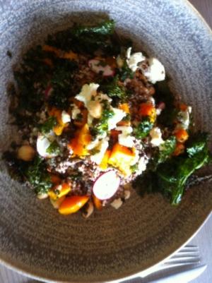 Quinoa Dish at SOCO Kitchen & Bar