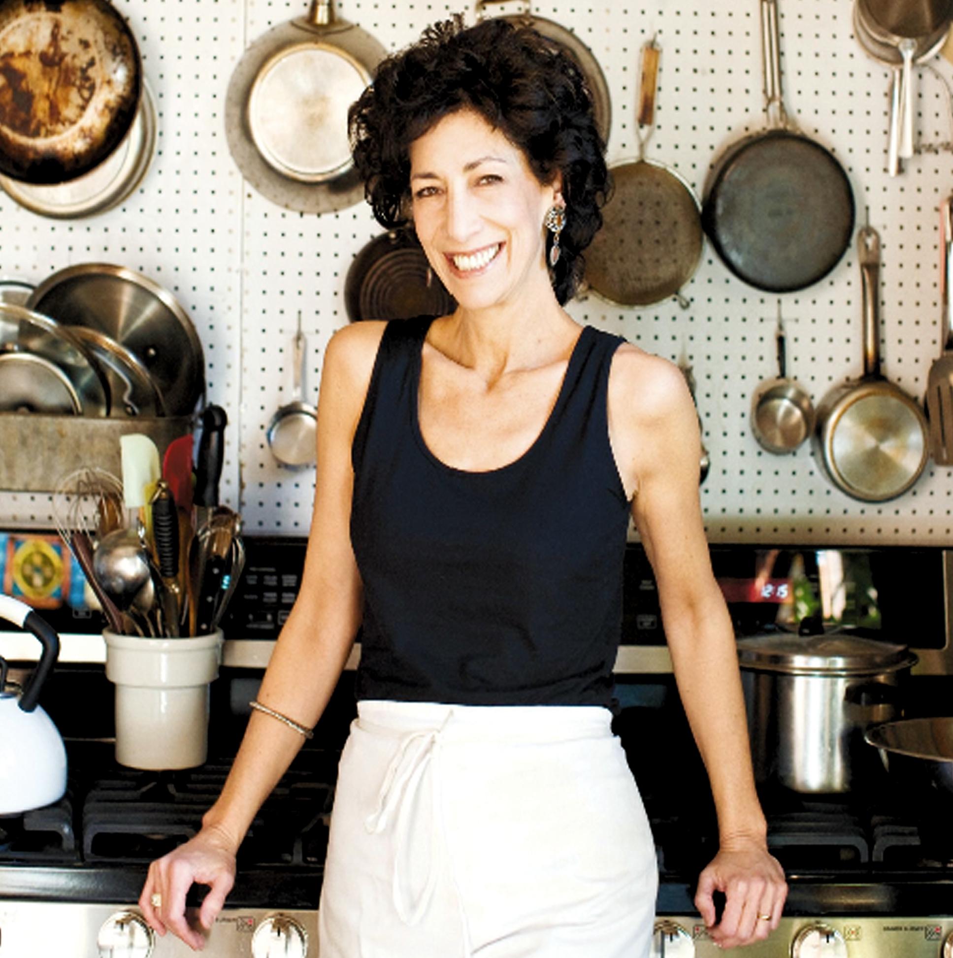 Rozanne in her kitchen.
