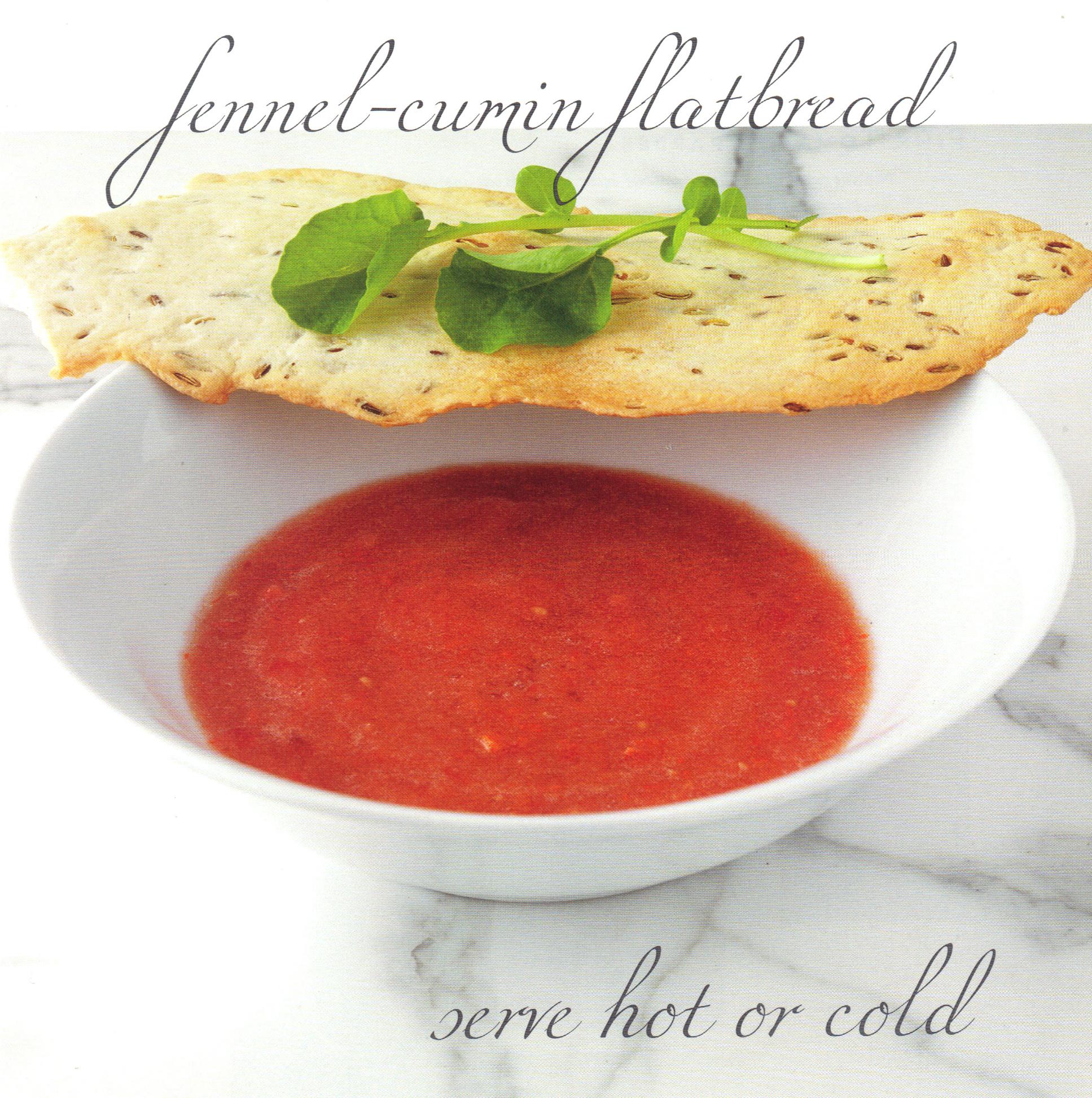 Sweet Tomato-Watermelon Soup