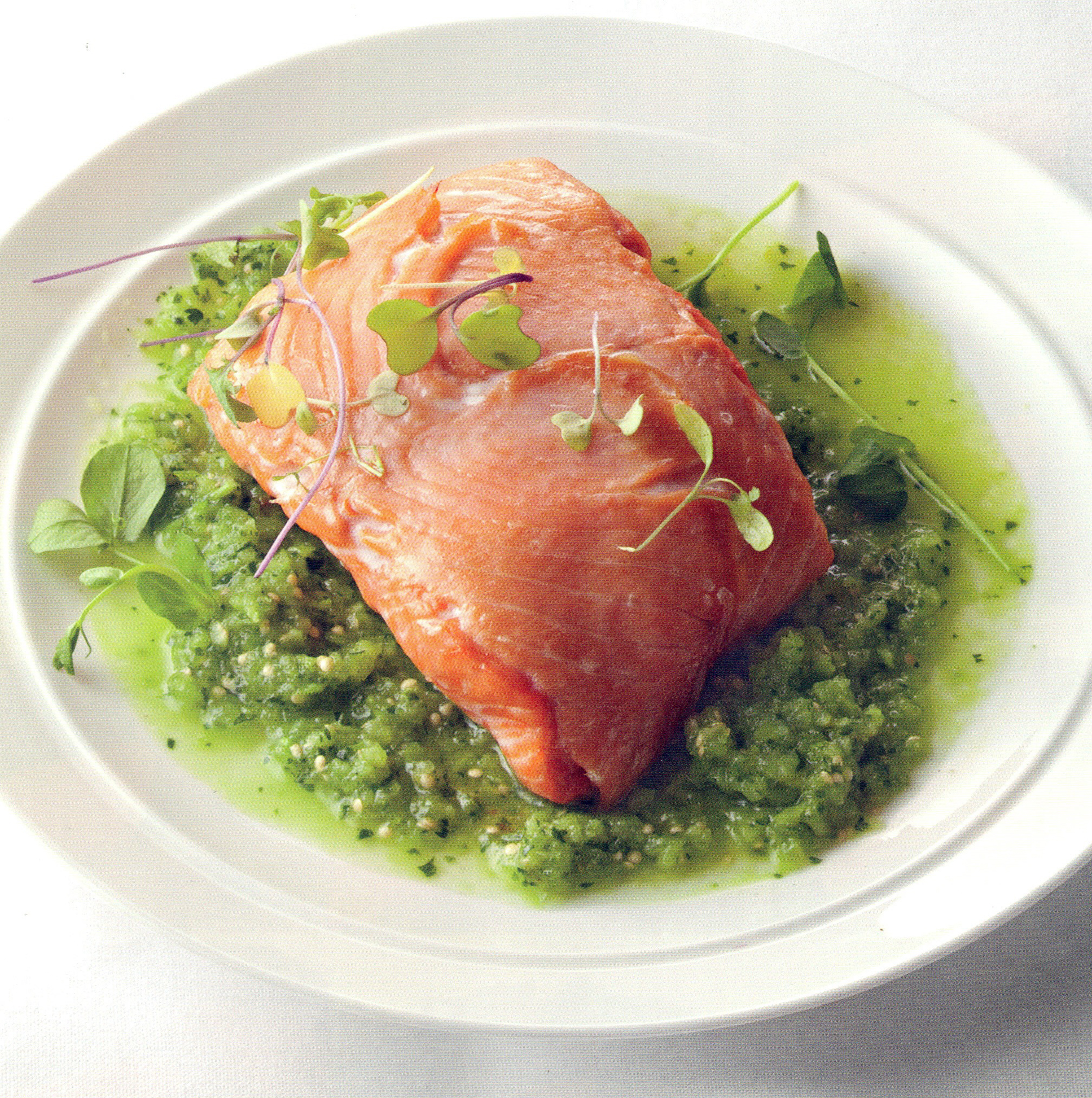 Smoked & Fresh Salmon en Chemise