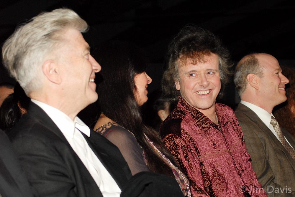 David Lynch with Donovan