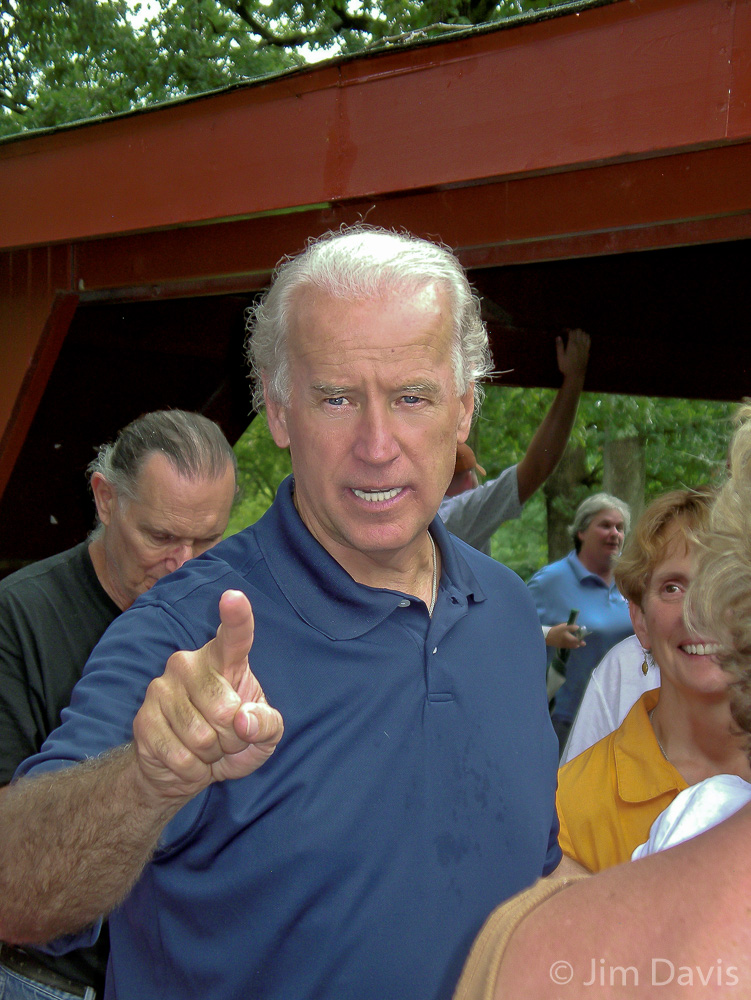 Joe Biden, Presidential Campaign, 2007