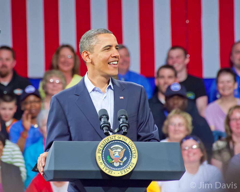 President Barack Obama, Ottumwa, Iowa 2010