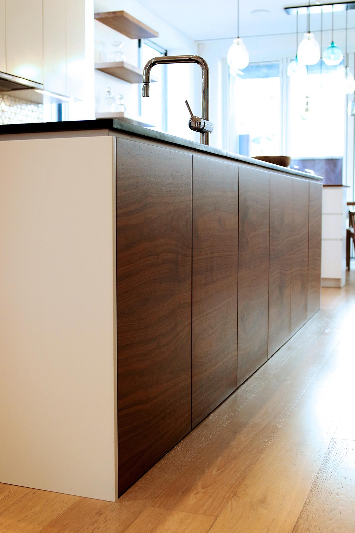 Kitchen design by  WISHBONE WOODWORKING