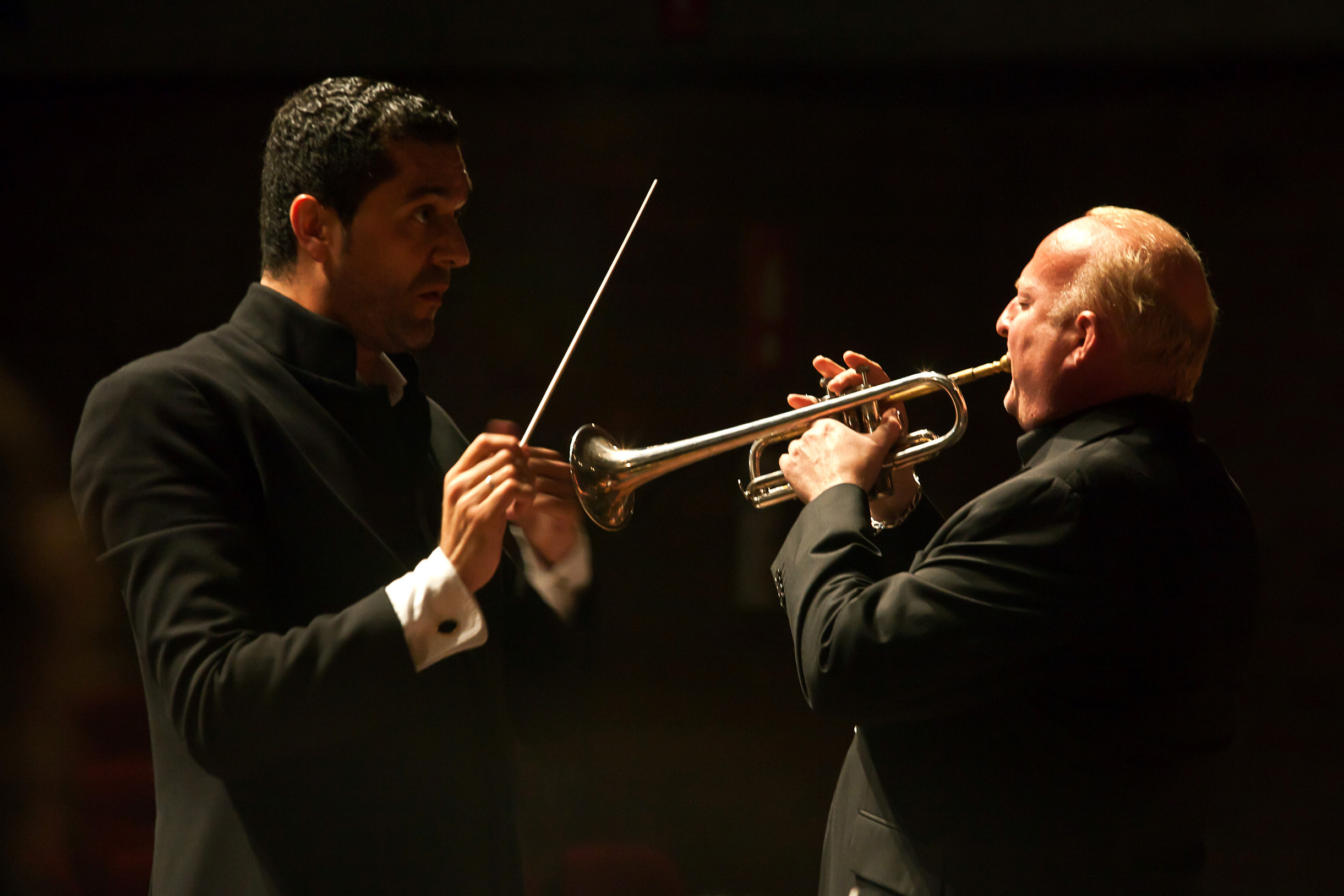 Felipe Aguirre con Eric Aubier