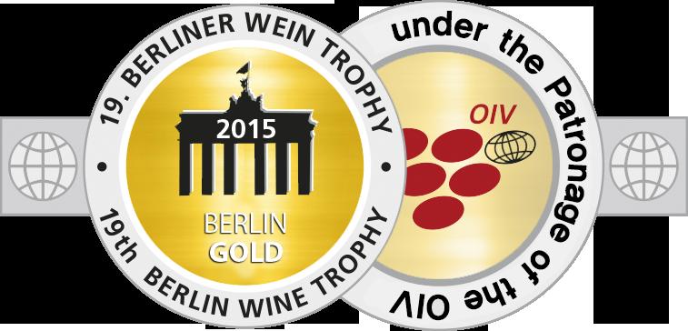 Medal BerlinWeinTrophy 2015 Gold.png