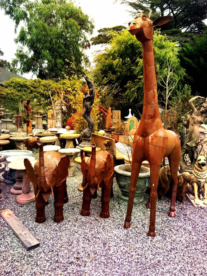 Who doesn't need a metal animal sculpture in thier yard?